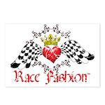 RaceFashion.com LOGO Postcards (Package of 8)