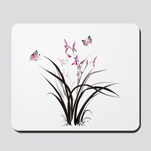 Chinese Orchids Mousepad