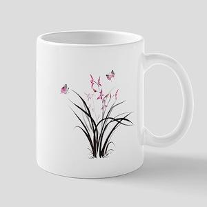 Chinese Orchids Mugs