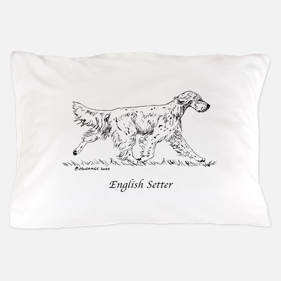 English Setter Pillow Case