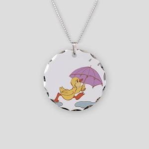 Duck in Rain Necklace