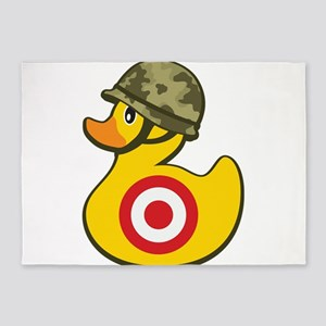 Army Duck 5'x7'Area Rug