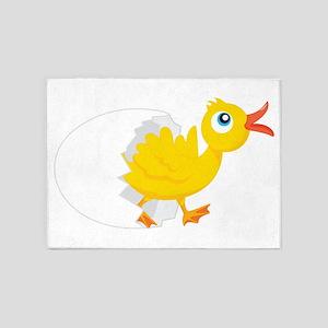 Duck in Egg 5'x7'Area Rug