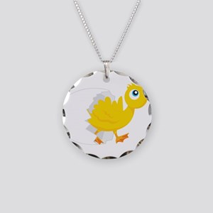 Duck in Egg Necklace