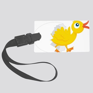 Duck in Egg Luggage Tag