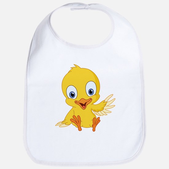 Cartoon Duck-2 Bib