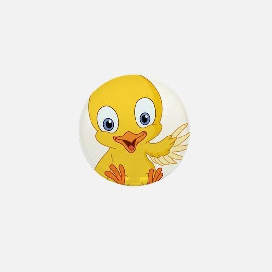 Cartoon Duck-2 Mini Button