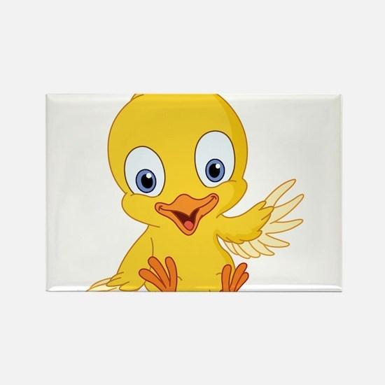 Cartoon Duck-2 Magnets