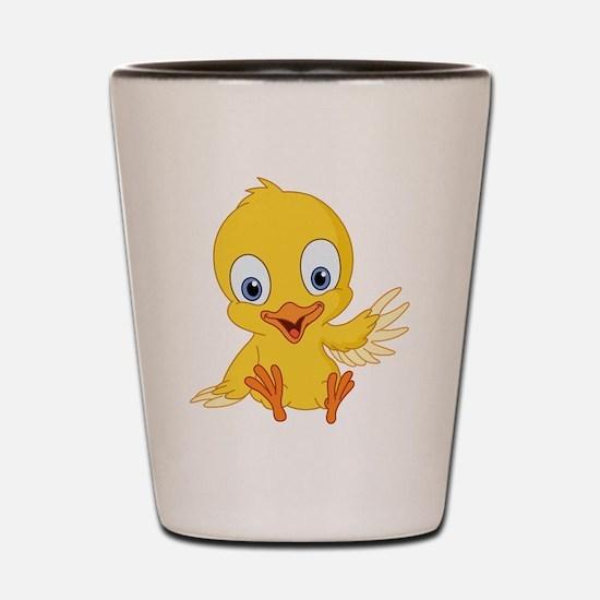 Cartoon Duck-2 Shot Glass