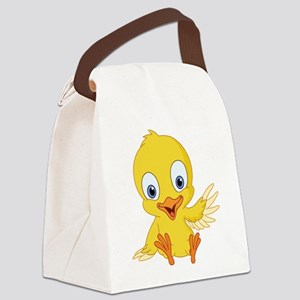 Cartoon Duck-2 Canvas Lunch Bag