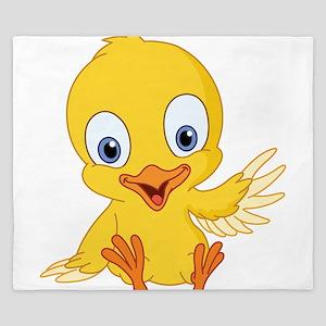 Cartoon Duck-2 King Duvet