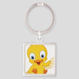 Cartoon Duck-2 Keychains