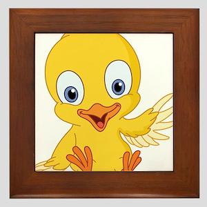 Cartoon Duck-2 Framed Tile