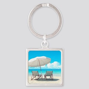 Beach Vacation Keychains