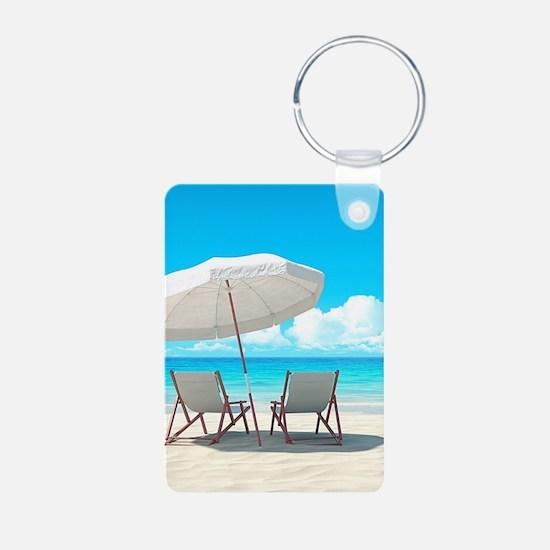 Beach Vacation Keychains