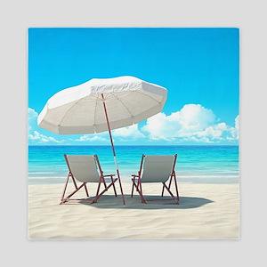 Beach Vacation Queen Duvet