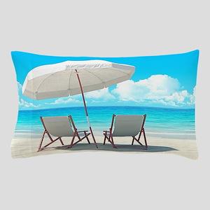 Beach Vacation Pillow Case