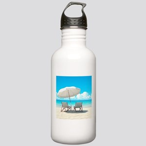 Beach Vacation Water Bottle
