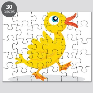 Cartoon Rubbe Duckie-2 Puzzle