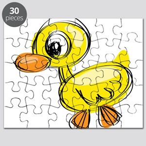 Sketched Duck Puzzle