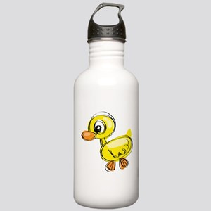 Sketched Duck Water Bottle