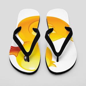 Rubber Duckie Flip Flops