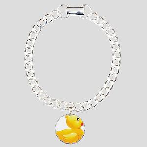 Charms Rubber Duckie Bracelet