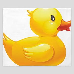 Rubber Duckie King Duvet