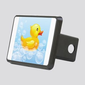 Duck in Bubbles Hitch Cover
