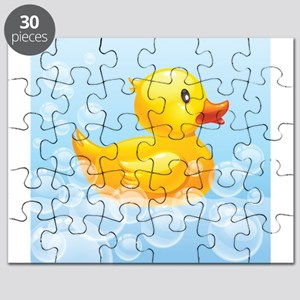 Duck in Bubbles Puzzle