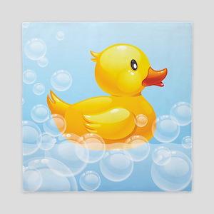 Duck in Bubbles Queen Duvet