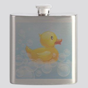 Duck in Bubbles Flask