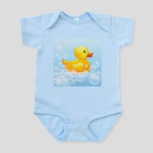 Duck in Bubbles Body Suit