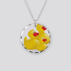 Trio of Ducks Necklace