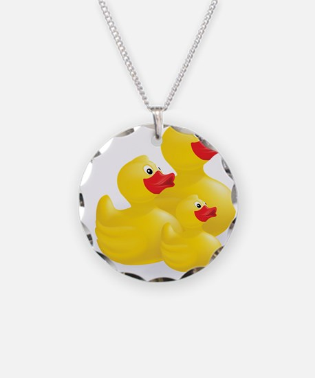 Trio of Ducks Necklace