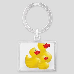Trio of Ducks Keychains