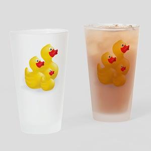 Trio of Ducks Drinking Glass