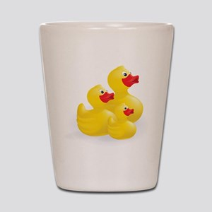 Trio of Ducks Shot Glass