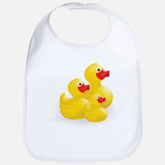 Trio of Ducks Bib