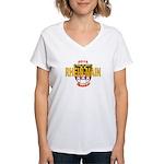 Women's V-Neck T-Shirt Alt Loo