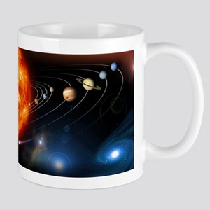 Solar system planets Stainless Steel Travel Mugs