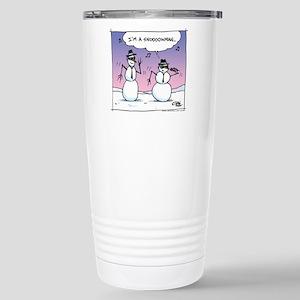 Blues Brothers Snowman Mugs