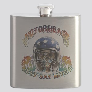 JUST SAY NITRO Flask