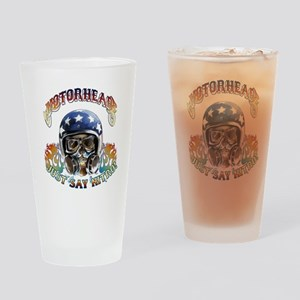 JUST SAY NITRO Drinking Glass