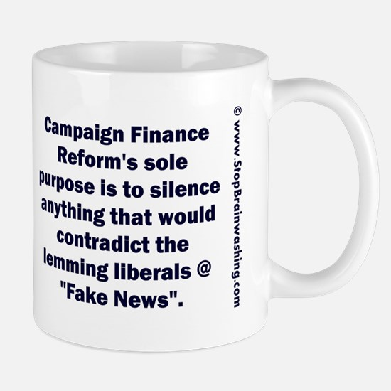 Fake Campaign Finance Reform Mug