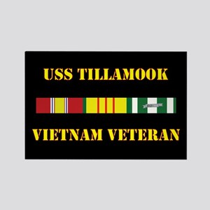 USS Tillamook Magnets