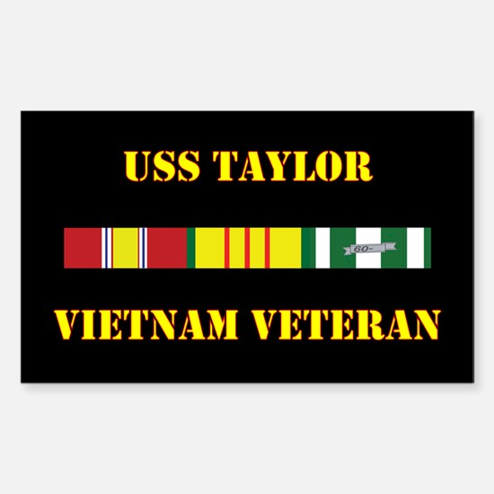 USS Taylor Decal
