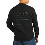 Fuck Bipolar Pts Ver Dark Long Sleeve T-Shirt
