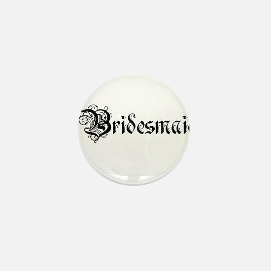 Bridesmaid Mini Button
