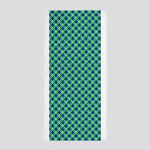 Green Cool Textured Pattern Designer Beach Towel